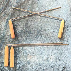Luna Ignis Iron and Wood Dowsing Rods